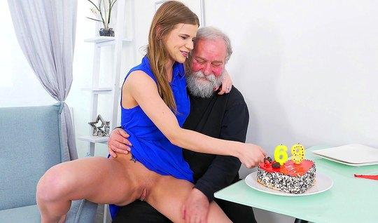 Порно Худые Молодые И Старик